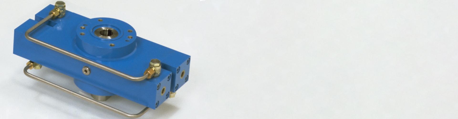 400 DKSE – Hydraulik-Doppelkolben-Schwenkeinheiten