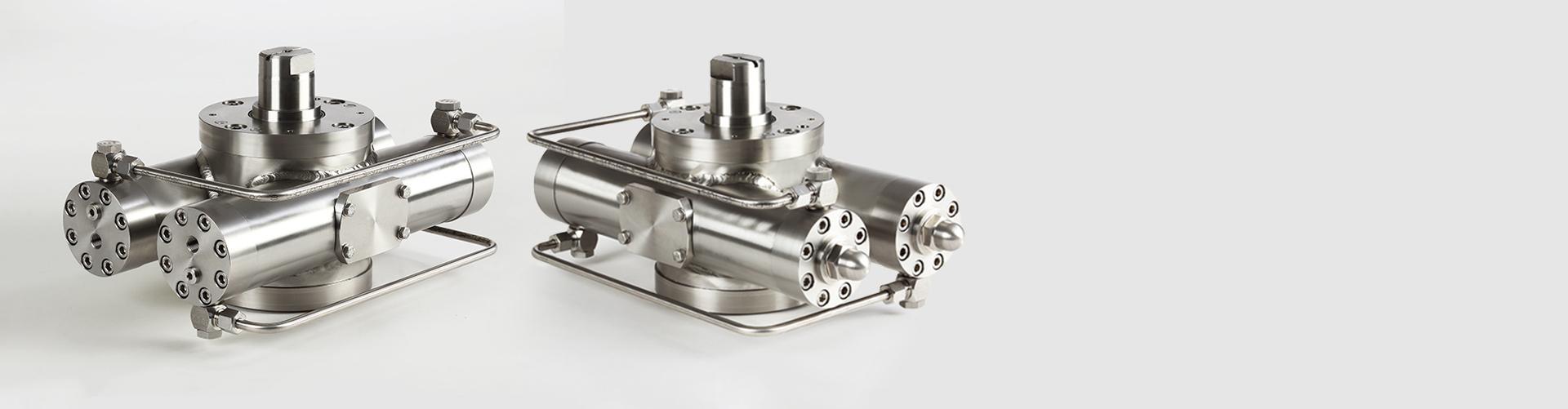 DKSE 430 – Hydraulik-Doppelkolben-Schwenkeinheiten